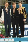 1997 Worlds Mens Podium
